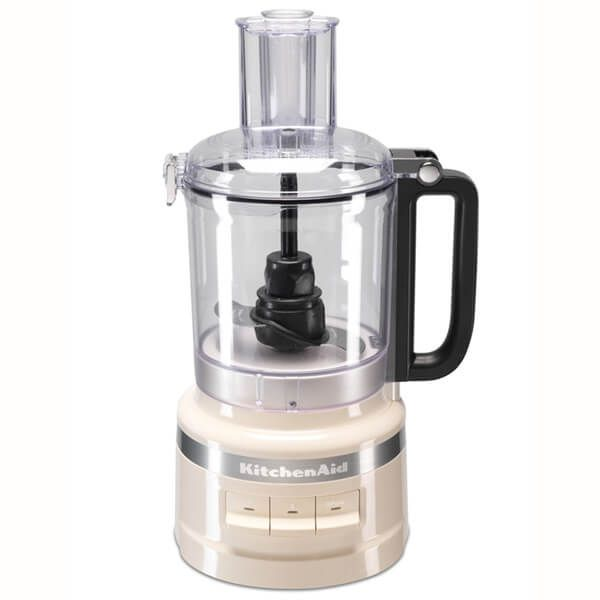 KitchenAid 2.1L Almond Cream Food Processor with FREE Gift