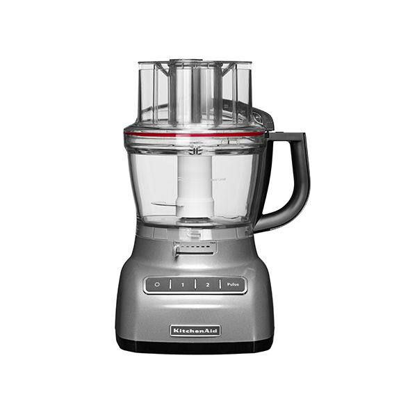 KitchenAid 3.1L Contour Silver Food Processor with FREE Gift