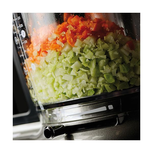 KitchenAid Artisan Onyx Black 4L Food Processor with FREE Gift