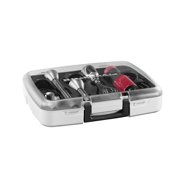 KitchenAid Empire Red 5 Speed Hand Blender