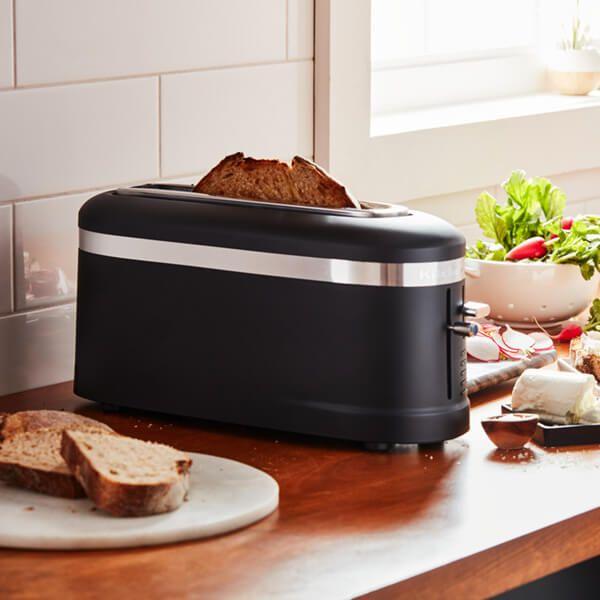 KitchenAid Design Matte Black 1 Slot Toaster