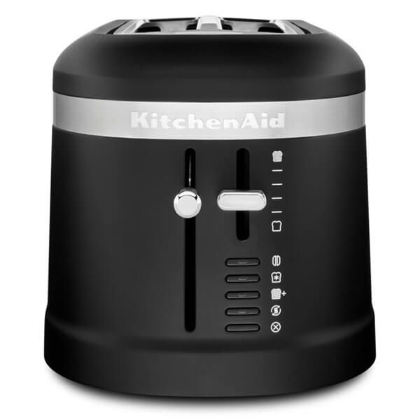 KitchenAid Design Matte Black 2 Slot Toaster