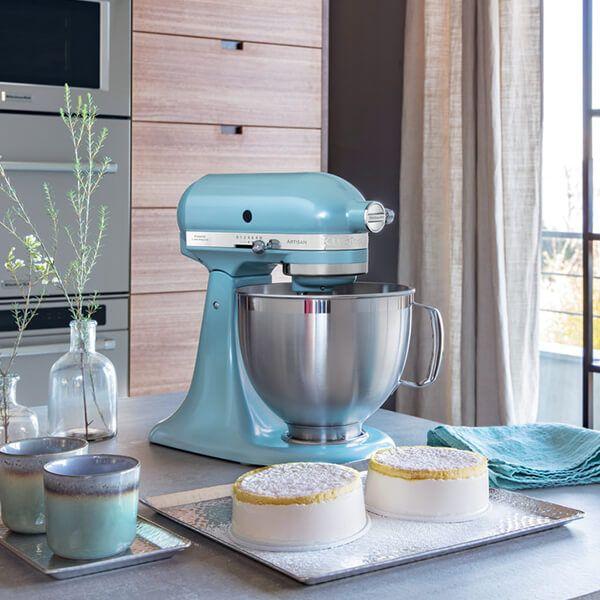 Kitchenaid Artisan Mixer 185 Azure Blue 5ksm185psbaz