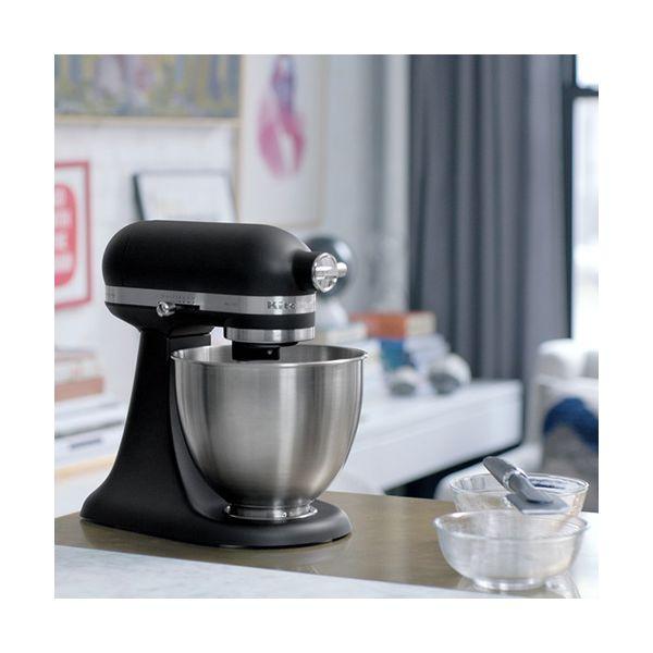 Kitchenaid Matte Black Mini Mixer
