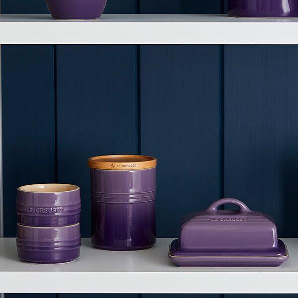 Le Creuset Ultra Violet Butter Dish