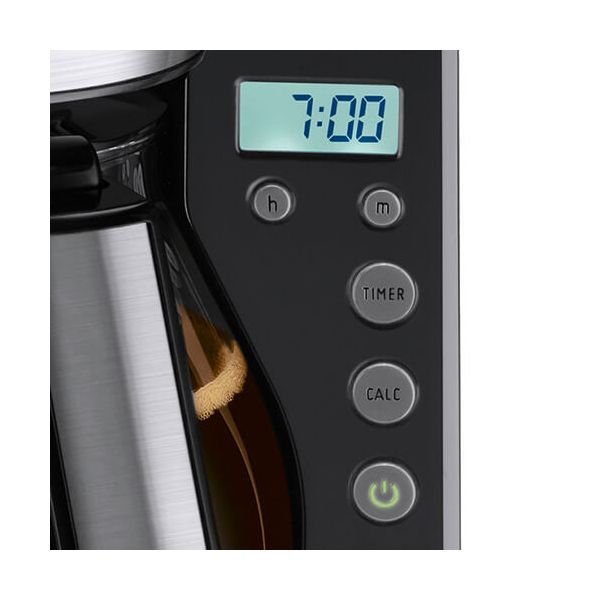Melitta Look Timer Black Filter Coffee Machine 1011-08