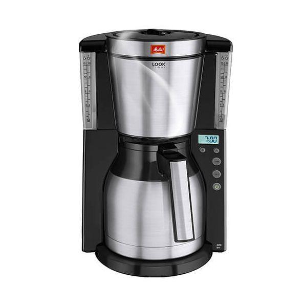 Melitta Look Therm Timer Black Filter Coffee Machine 1011-16