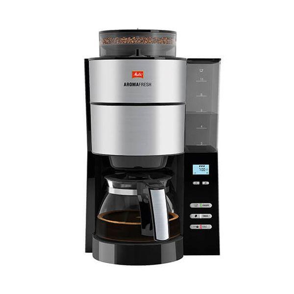 Melitta Aromafresh Grind Brew Filter Coffee Machine 1021 01