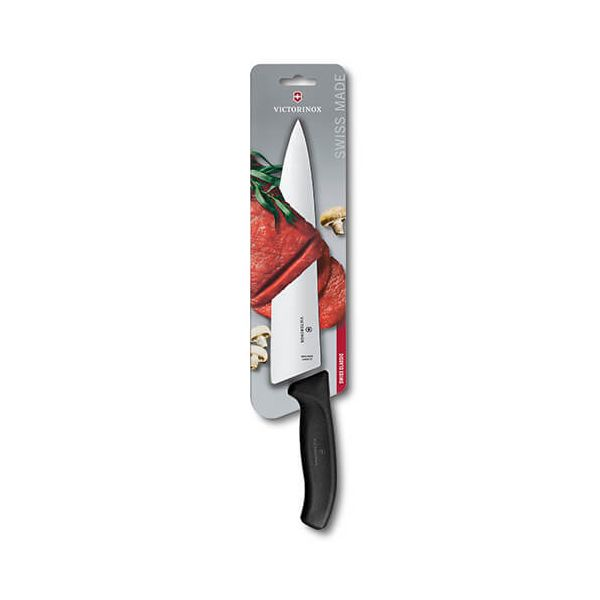 Victorinox Swiss Classic Black 21cm Serrated Bread Knife