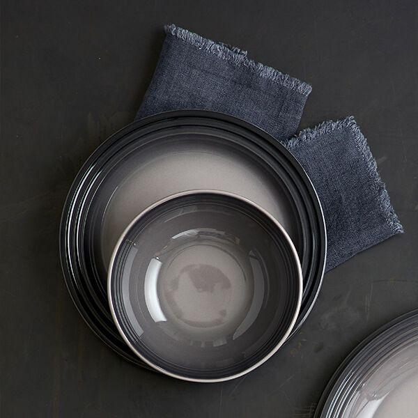 Le Creuset Flint Stoneware 16cm Cereal Bowl 4 for 3