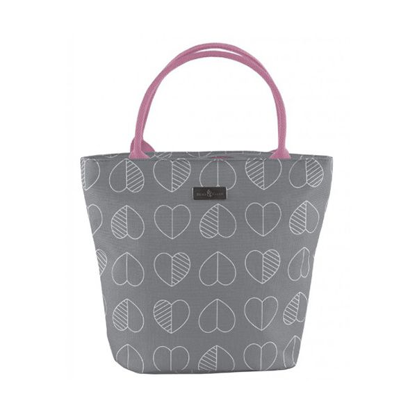 Navigate Beau & Elliot Confetti Outline Slate Insulated Lunch Tote