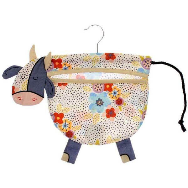 Ulster Weavers Peg Bag Daisy Cow