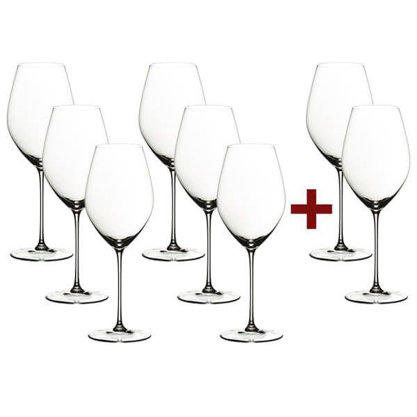 Riedel Veritas Champagne Glasses, 8 for 6