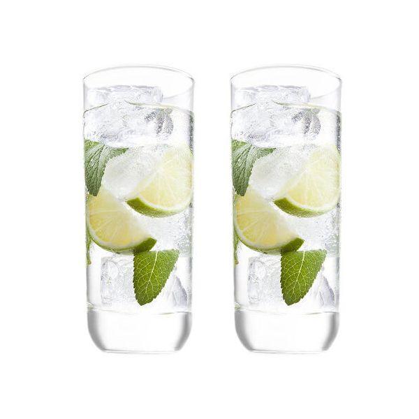 Vacu Vin Cocktail Glass Long Drink Set Of 2