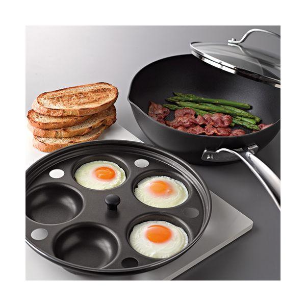 Circulon Induction 2-in-1 25cm Chef Pan / Egg Poacher