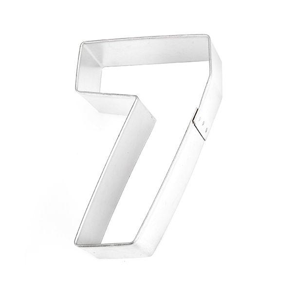 Eddingtons Stainless Steel Cookie Cutter Seven (7)