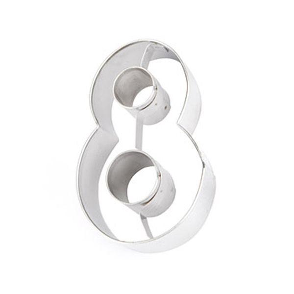 Eddingtons Stainless Steel Cookie Cutter Eight (8)