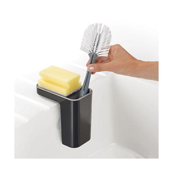 Joseph Joseph Sink Pod Self-Draining Sink Tidy Grey