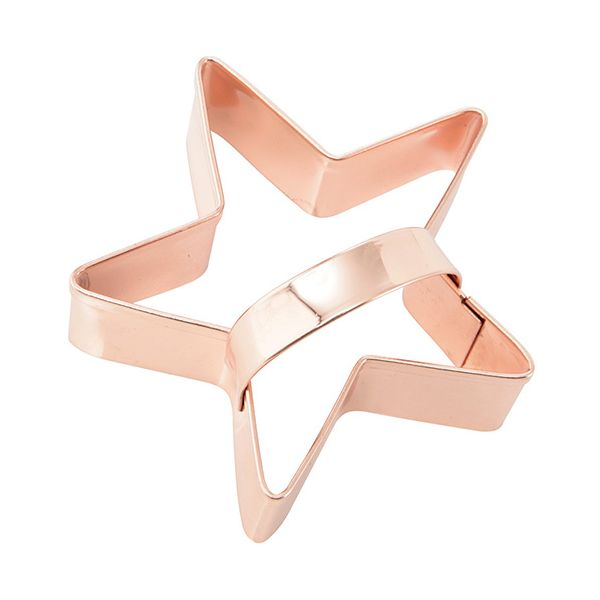 Eddingtons Copper Star Cookie Cutter With Handle