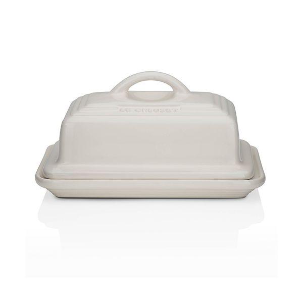 Le Creuset Almond Stoneware Butter Dish