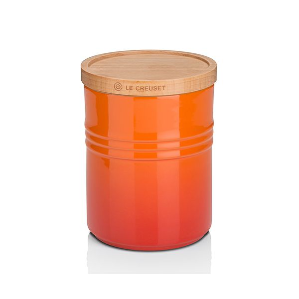 Le Creuset Volcanic Stoneware Medium Storage Jar 3 for 2