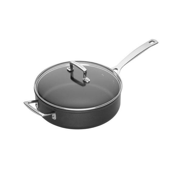 Le Creuset Toughened Non-Stick 26cm Saute Pan & Glass Lid