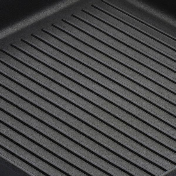 Le Creuset Toughened Non-Stick 23cm Ribbed Square Grill Pan