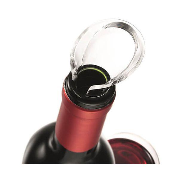 Vacu Vin Wine Saver Gift Set Black