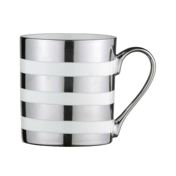 BIA Stripes Mug Platinum