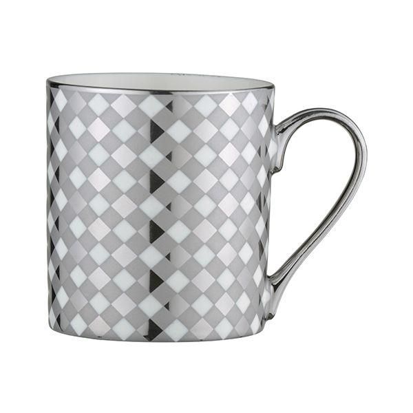 BIA Tartan Mug Platinum