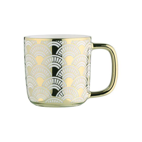 BIA Fan Espresso Mug Gold