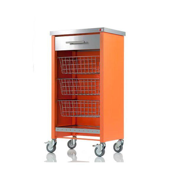 Hahn Dho Chelsea Orange Kitchen Trolley