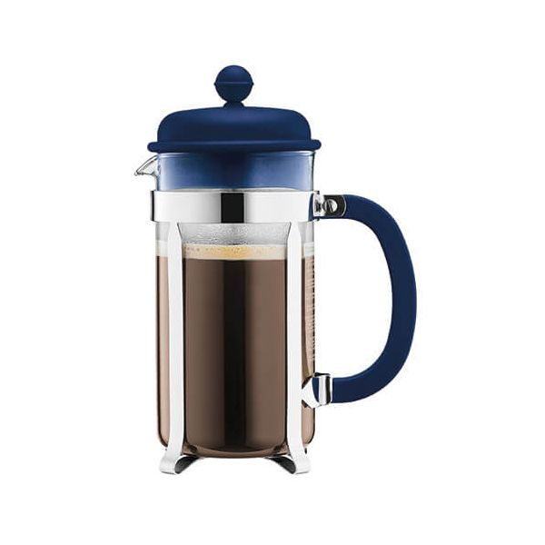 Bodum Caffettiera Coffee Maker 8 Cup Petrol Blue
