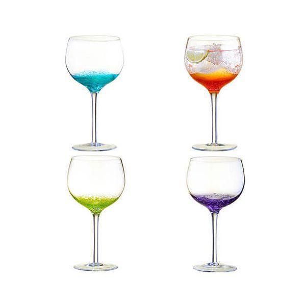 Anton Studios Fizz Set of 4 Gin Glasses