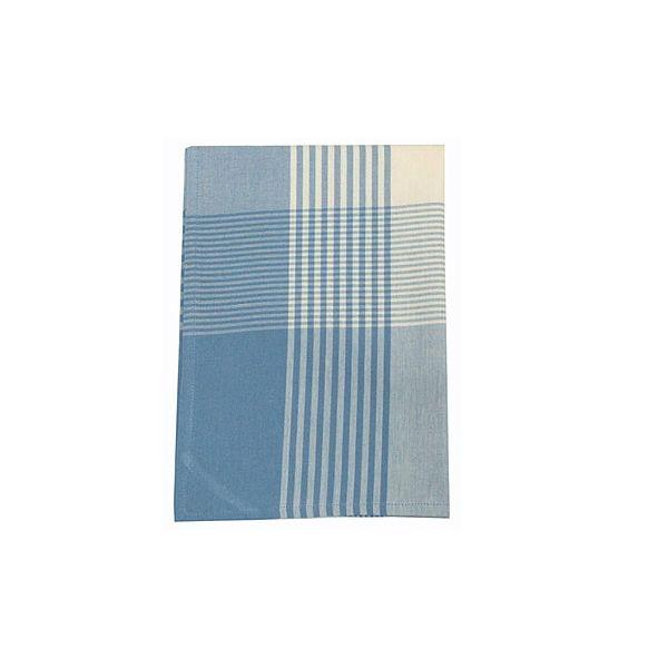 Walton & Co Auberge Gingham Tea Towel Wedgwood Blue
