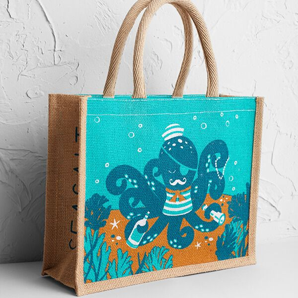 SeaSalt Cute Jute Octopus