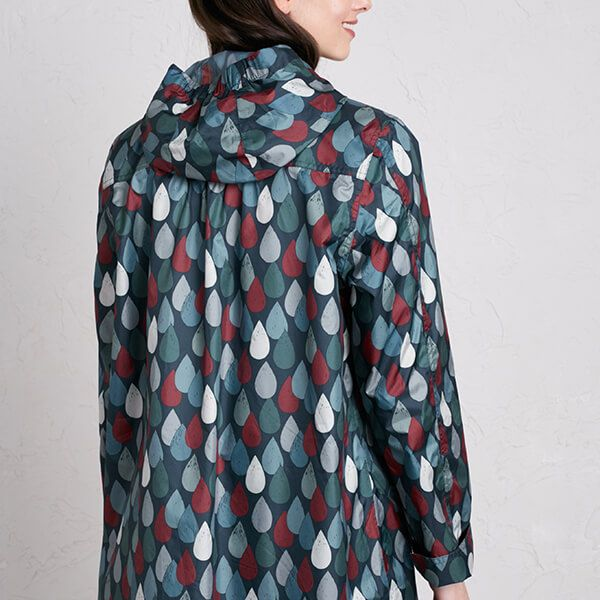 Seasalt The Pack It Jacket II Lino Drops Granite