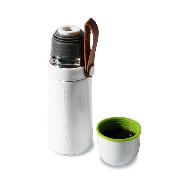 Black + Blum Box Appetit Thermo Flask White