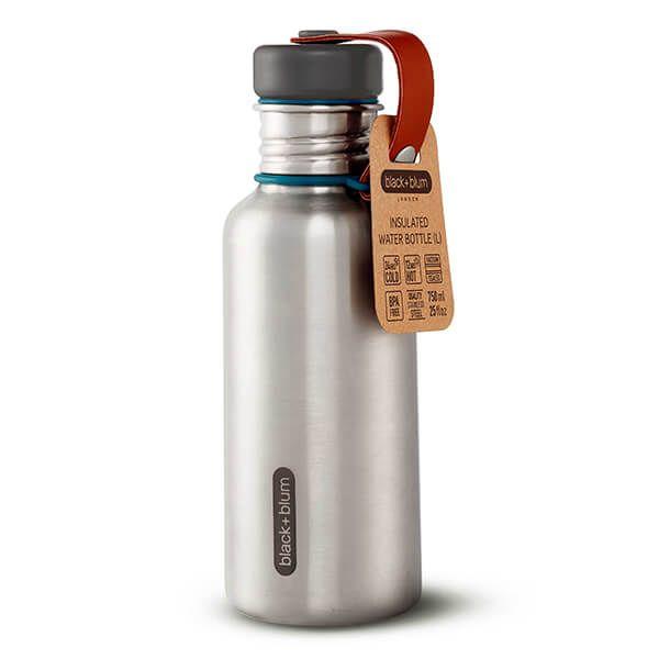 Black + Blum Box Appetit Water Bottle Steel / Ocean