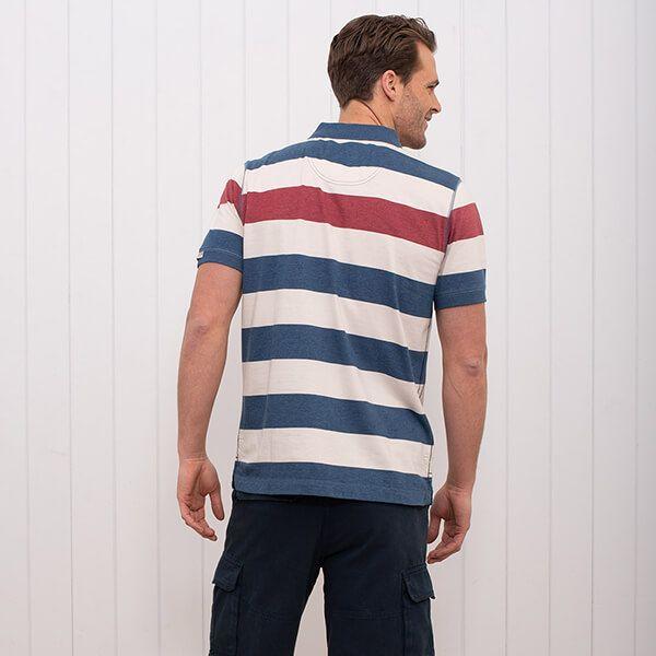 Brakeburn Block Stripe Polo