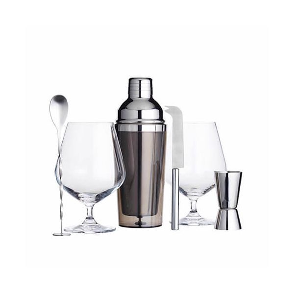 BarCraft Gin Cocktail 6 Piece Gift Set