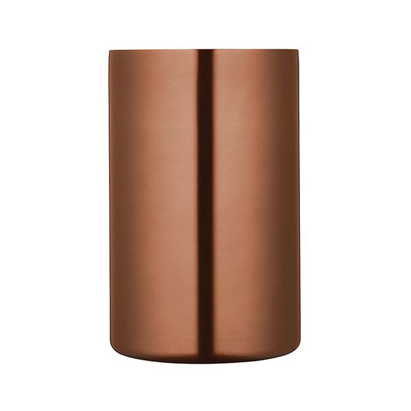 BarCraft Luxe Lounge Copper Double Walled Wine Cooler