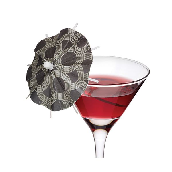 BarCraft Pack Of 12 Cocktail Umbrellas