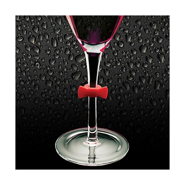 BarCraft Set Of 6 Silicone Wine Markers