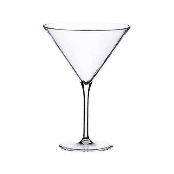 BarCraft Martini Glass Plastic