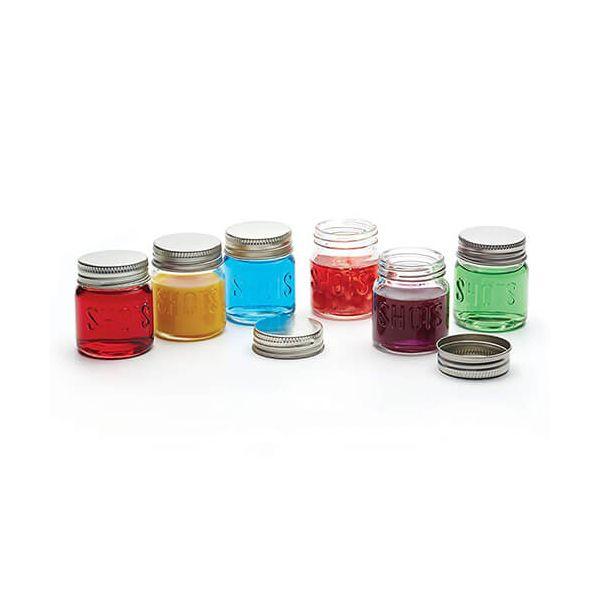 BarCraft 60ml Set of 6 Shot Jars