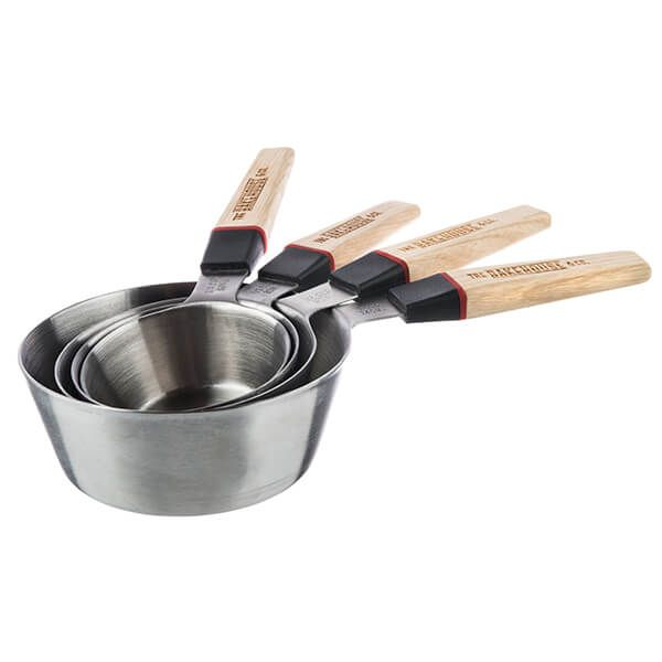 Bakehouse & Co Stainless Steel 4 Piece Measuring Cup Set