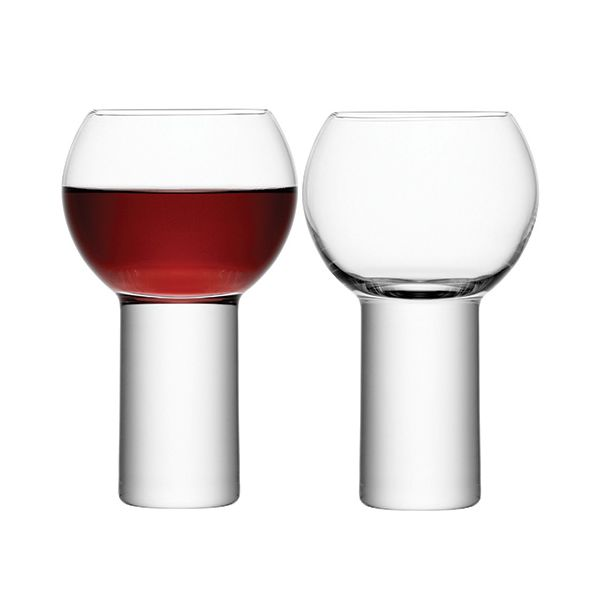 LSA Boris Wine Goblet 360ml Set Of Two