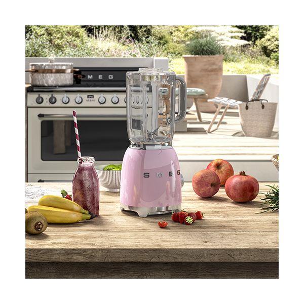 Smeg Retro Style Blender, Pink