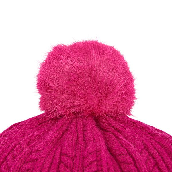 Joules Ruby Bobble Hat